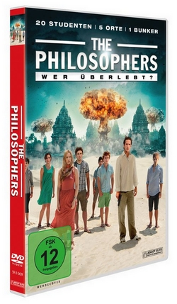 THE PHILOSOPHERS Wer überlebt DVD-Cover