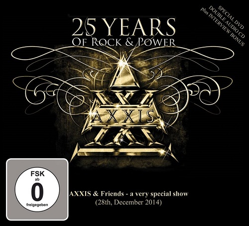 AXXIS Live-DVD 25 Years Of Rock & Power Cover