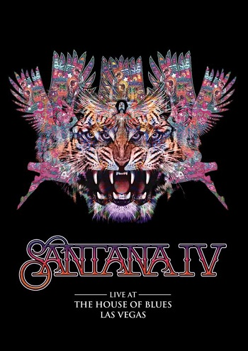 Santana IV Live at The House Of Blues, Las Vegas Cover