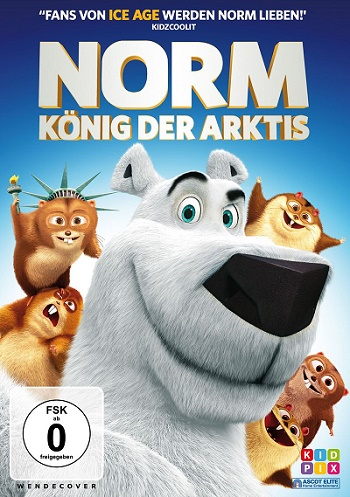 NORM – KÖNIG DER ARKTIS DVD-Cover ©  Ascot Elite Home Entertainment