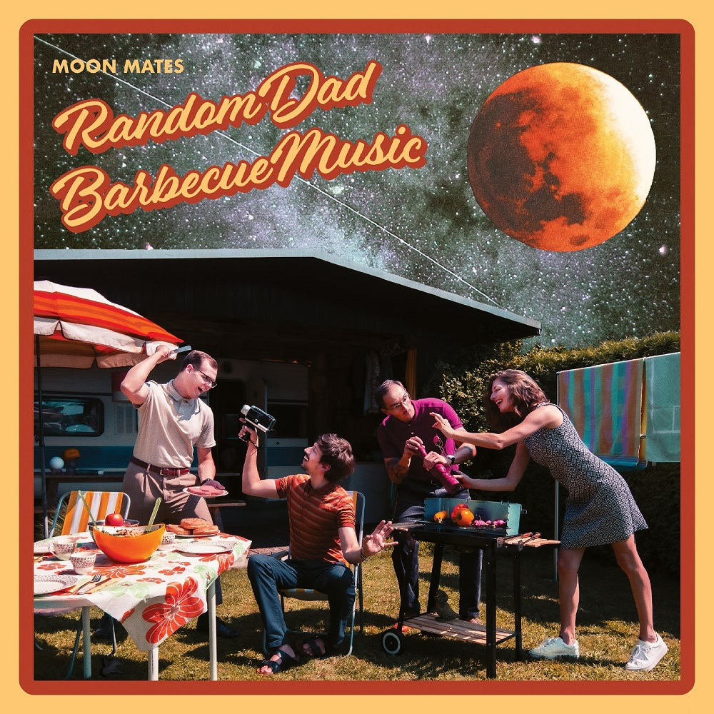 MOON MATES - Random Dad Barbecue Music EP Cover